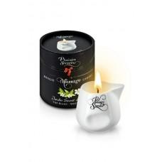 Свеча с массажным маслом Белый чай, 80 мл