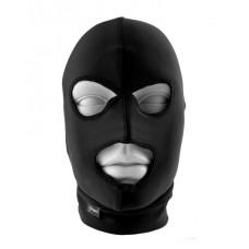 Маска на голову с отверстиями для глаз и рта Fetish Fantasy Limited Edition SpandexHood