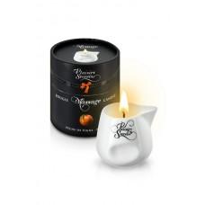 Свеча с массажным маслом Персик, 80 мл