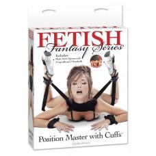 Фиксатор для рук и ног Fetish Fantasy Series Position Master With Cuffs