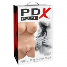 Мастурбатор-торс, вагина и анус PDX Plus Perfect DD's Masturbator