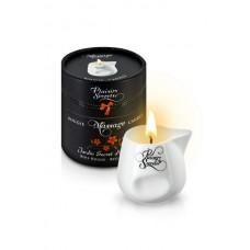 Свеча с массажным маслом Красное дерево, 80 мл