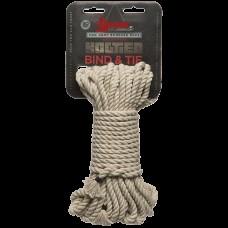 Веревка бондажная 15,2 м Kink - Bind & Tie - Hemp Bondage Rope