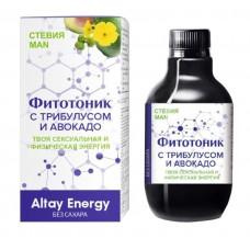 Растительный сироп для мужчин «Фитотоник с трибулусом и авокадо» - 250 мл.