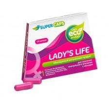 Возбуждающие капсулы Ladys Life - 14 капсул (0,35 гр.)