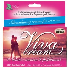 Стимулирующий крем VivaCream для женщин - 30 мл.