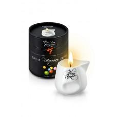 Свеча с массажным маслом Фруктовая жевачка, 80 мл