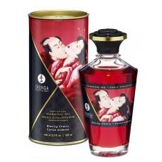 Массажное интимное масло с ароматом вишни - 100 мл.
