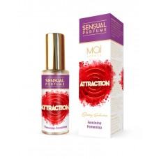 Женский парфюм с феромонами FEMININE PERFUME WITH SENSUAL ATTRACTION (MAI PHERO ATTRACTION) 30ML