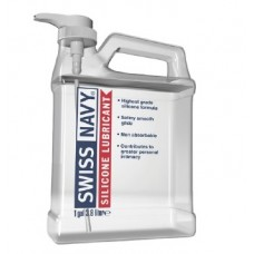 Канистра лубриканта на силиконовой основе Swiss Navy Silicone Lubricant 3,79 л (1 Gallon)