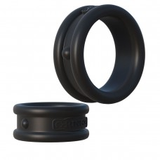 Набор из двух эрекционных колец Max-Width Silicone Rings