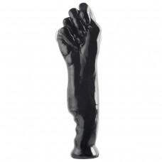 Черный фаллоимитатор-кулак Works Fist of Fury - 28 см.
