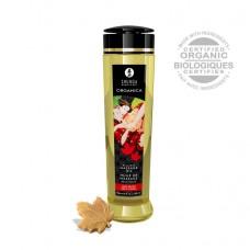 Масло массажное для тела Кленовое наслаждение серии Органика, 240мл, Shunga