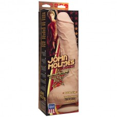 Фаллоимитатор реалистик Джон Холмс с мошонкой и извлекаемой Vac-U-Lock присоской John Holmes - ULTRASKYN™ Realistic Cock w/ Removable Vac-U-Lock™ Suction Cup