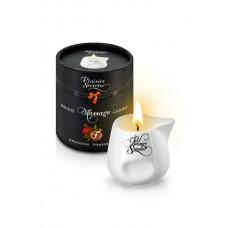 Свеча с массажным маслом Спелый гранат, 80 мл