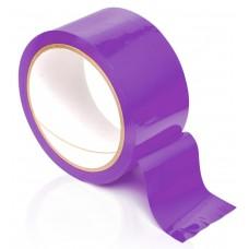 Фиолетовая самоклеющаяся лента для связывания Pleasure Tape - 10,6 м.